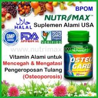 Nutrimax Osteo Gard isi 30 Vitamin Kalsium Untuk/Buat Tulang OsteoGard