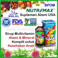 Nutrimax Rainbow Kidz 240 ml Multivitamin/Multi Vitamin Buat Anak/Kids