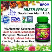 Nutrimax Livomax Vitamin Untuk/Buat Hati & Ginjal (Liver & Kidney Duo)