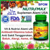 Nutrimax Bee Propolis Plus Bee Pollen isi 60 Vitamin Antibiotik Alami