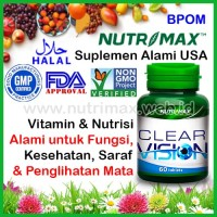 Nutrimax Clear Vision With Eyebright Herb isi 60 Vitamin Buat Mata