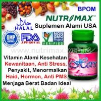 Nutrimax Hers Vitamin Untuk/Buat Kesehatan & Kesuburan Hormon Wanita