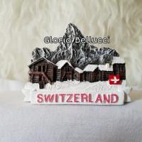 SOUVENIR MAGNET KULKAS SWITZERLAND NEGARA SWISS
