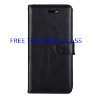CASING SAMSUNG GALAXY A8 2018 PLUS A 8 2018 LEATHER FLIP COVER WALLET