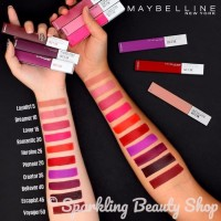 Maybelline Super Stay Matte Ink - Liquid Lipstick U002F Lip Cream -