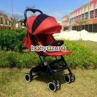 ME kereta dorong bayi stroller lipat ringan cabin size newborn red