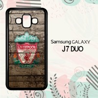 Casing Samsung Galaxy J7 Duo HP Liverpool Logo LI0230
