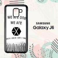 Casing Samsung Galaxy J6 2018 HP We Are One EXO LI0201
