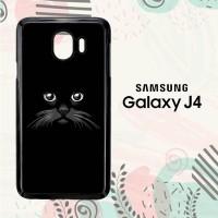 Casing Samsung Galaxy J4 2018 HP Peek a Boo Black Cat LI0244