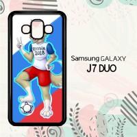 Casing Samsung Galaxy J7 Duo HP Zabivaka Russia 2018 L2624