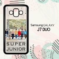 Casing Samsung Galaxy J7 Duo HP K-POP Super Junior LI0227