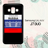 Casing Samsung Galaxy J7 Duo HP Stadiums Russia 2018 L2600
