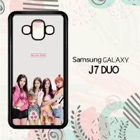 Casing Samsung Galaxy J7 Duo HP K-POP Blackpink LI0222