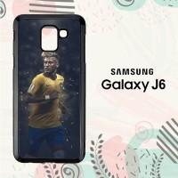 Casing Samsung Galaxy J6 2018 HP Neymar Jr Brazil LI0239
