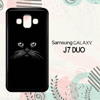 Casing Samsung Galaxy J7 Duo HP Peek a Boo Black Cat LI0244