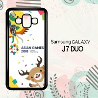 Casing Samsung Galaxy J7 Duo HP Asian Games 2018 L2625