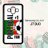 Casing Samsung Galaxy J7 Duo HP Portugal 2018 Soccer Games L2592
