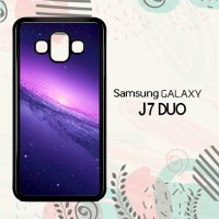 Casing Samsung Galaxy J7 Duo HP Purple Galaxy LI0248