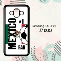 Casing Samsung Galaxy J7 Duo HP Mexico 2018 Soccer Games L2584