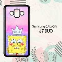 Casing Samsung Galaxy J7 Duo HP Cute Spongebob LI0217