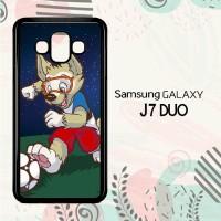 Casing Samsung Galaxy J7 Duo HP Zabivaka Mascot 2018 L2602