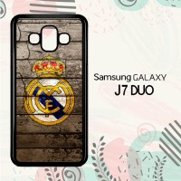 Casing Samsung Galaxy J7 Duo HP Real Madrid Logo LI0249