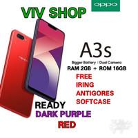 OPPO A3S RAM 2/16GB GARANSI RESMI OPPO 1 TAHUN