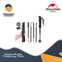 NATUREHIKE Trekking Pole 5Node Aluminium Alloy Up To 135CM NH15A023-Z