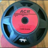 speaker acr 15600 black 15 inch 500 watt 8 ohm original new