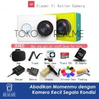 KAMERA XIAOMI YI ACTION CAM 16 MP 1080P 60 fps LENGKAP- TOKO HP REALME