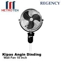 Regency Wall Fan 18 Inch - Kipas Angin Dinding Listrik