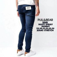 Pull & Bear Super Skinny Jeans Navy