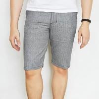 Grey Matrix abu tua celana pendek short pants pria lelaki laki cowok