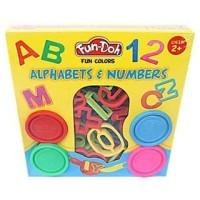 Promo Tokopedia - FUN DOH Alphabets & Numbers / FUNDOH Mainan Lilin c