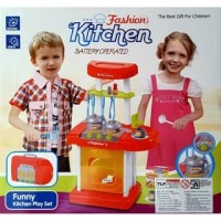 Promo Tokopedia - THEONA.TATA MAINAN MASAK FASHION KITCHEN SET KOPER