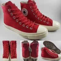 Sepatu Kets Converse 1970s Seventies Heritage Court High Red Merah c97e1c0fa1