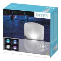 Floating Led Cube 23cmx23cmx22cm Funtastic - Intex 28694