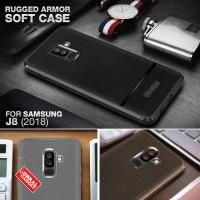 Soft Leather Case Samsung J8 2018 Softcase Silikon Casing Cover Jelly