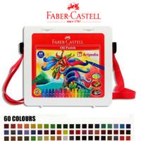 Faber Castell Hexagonal Oil Pastel Crayon 60 Colours Warna / Crayon