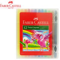 Twist Crayon Faber Castell 12 Warna - Crayon Putar Faber Castell