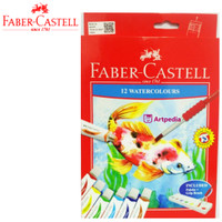 Faber Castell Watercolours Tube set 12 / Cat Air 12 warna