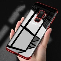 TPU PLATING case Samsung J8 2018 softcase casing back cover ultra thin