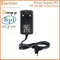 Power Supply 5V 3A 4.0x1.7mm Barrel Jack Orange Banana Pi PSP Adaptor