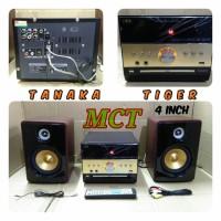 Speaker aktif Tanaka Tiger Amplifier Media DVD