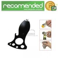 Eat N Tool Sendok Pembuka Botol Multifungsi - Hitam
