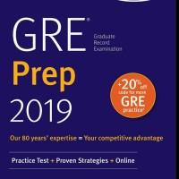 Buku Kaplan GRE Prep 2019 (Hardcover)