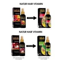 Natur Hair Mist Spray Ukuran 80ml