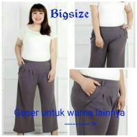 Kulot Batik Becky 4/Celana Panjang Jumbo Size