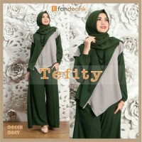 Gamis / Baju / Pakaian Wanita Muslim Tefity Syari