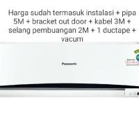 Panasonic Ac Split 1 PK Low Watt CS/CU-UV9SKP Free Pipa & bracket